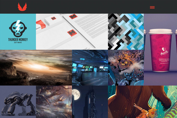 CASSIUS - Creative WordPress Theme