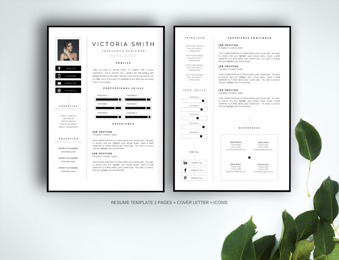 Resume Template For Ms Word Templates On Creative