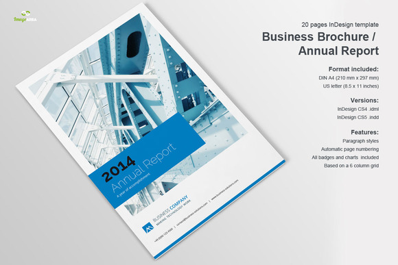 Business Brochure Annual Report Brochure Templates On