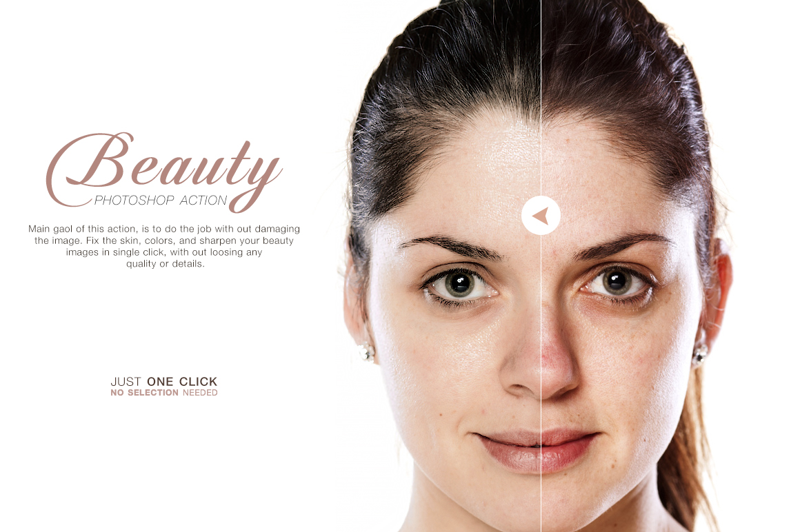 Beauty Photoshop Action  Actions on Creative Market