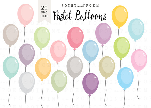 free party balloons model