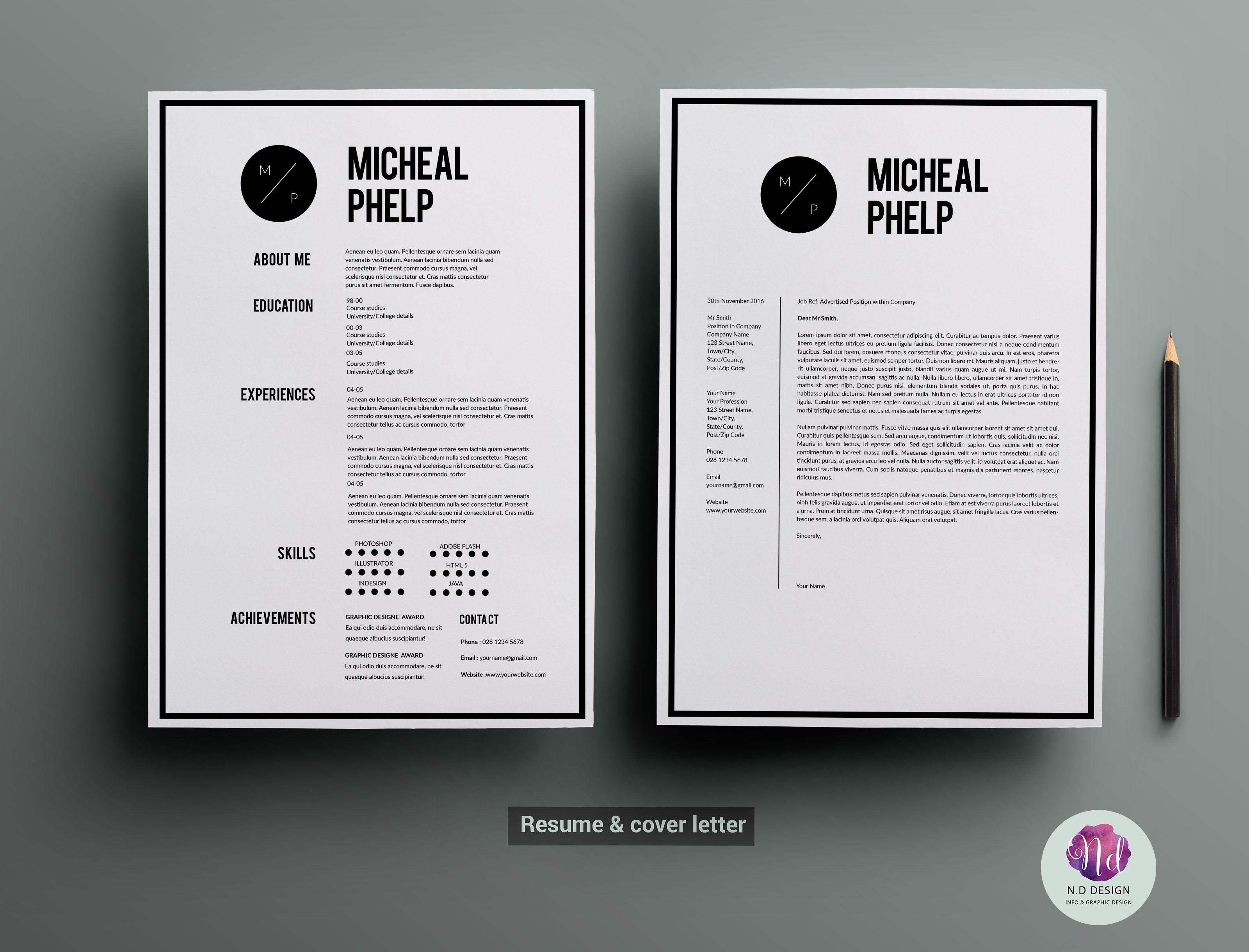 Cover Letter Cvs Resume Example