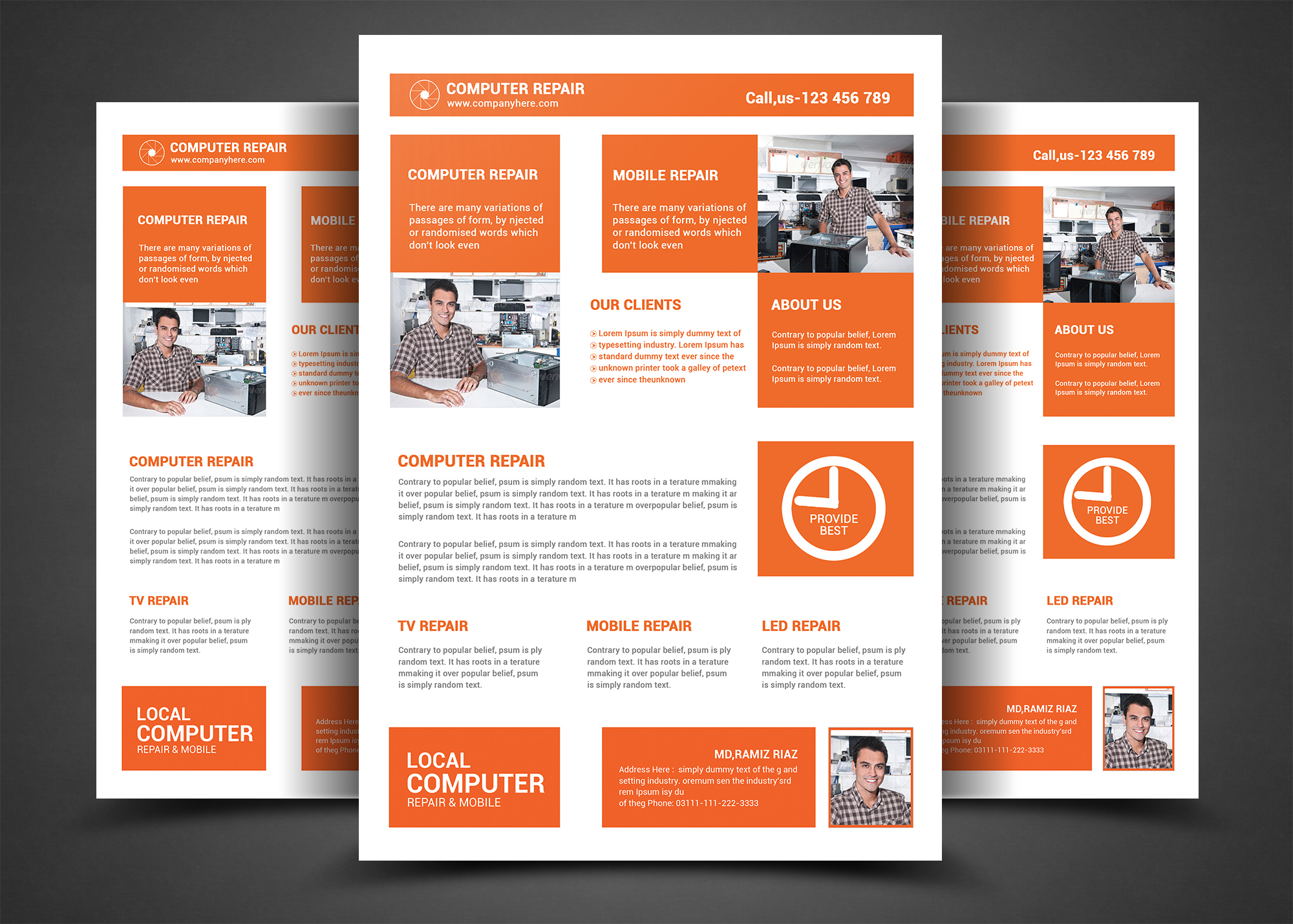 Computer Repair Flyer Template | 20 Computer Repair Flyer Pictures And Ideas On Meta Networks