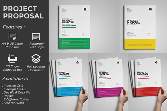 Web Design Proposal Stationery Templates On Creative Market