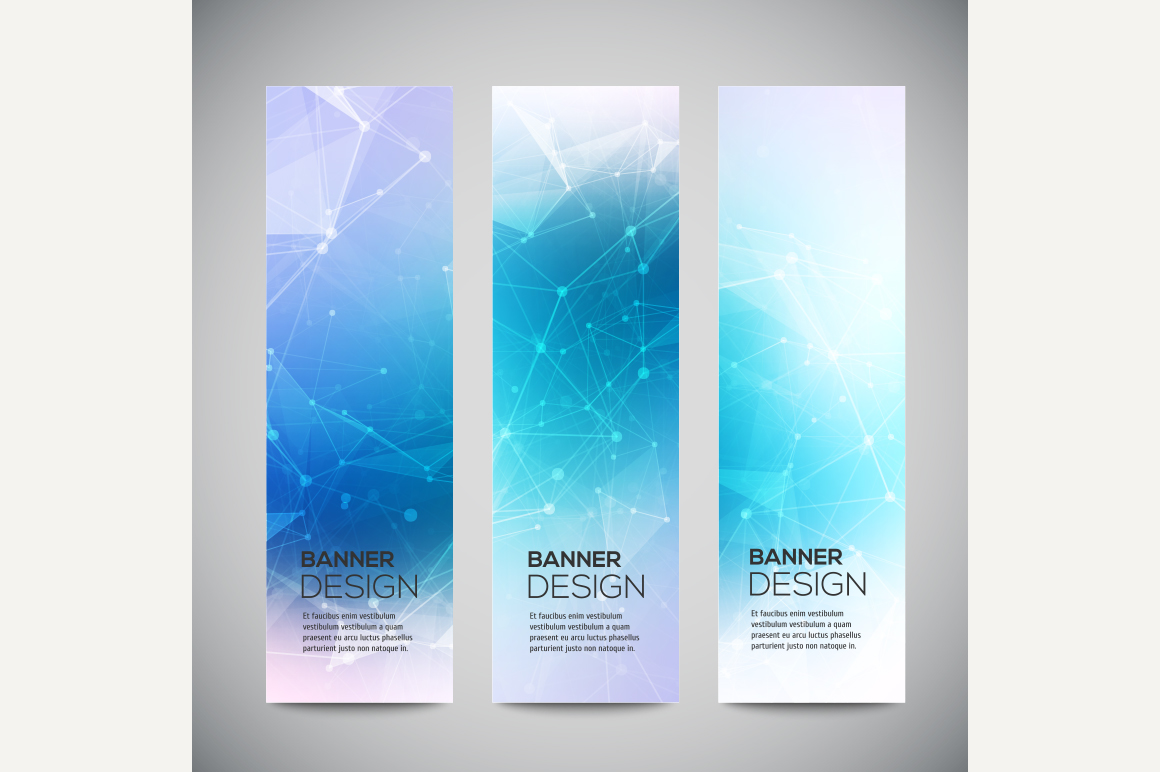 Vector Vertical Banners Set Graphics On Creative Market