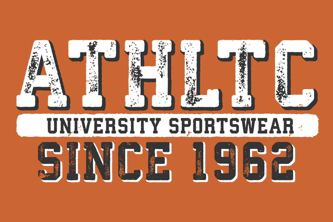Athletico Display Fonts On Creative Market