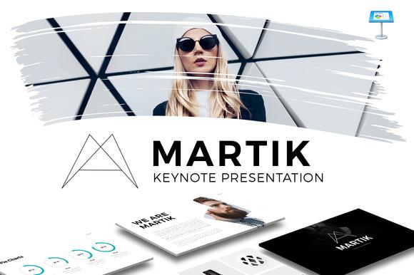 Martik Keynote Presentation Template
