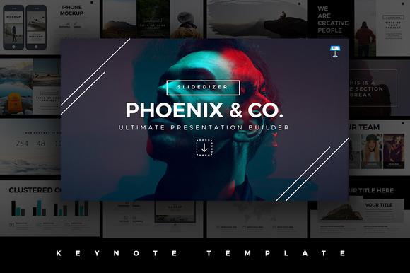 Phoenix Minimal Keynote Template