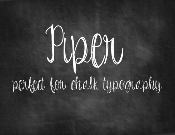 10 Creative Examples of Chalkboard Typography  Creative Market Blog