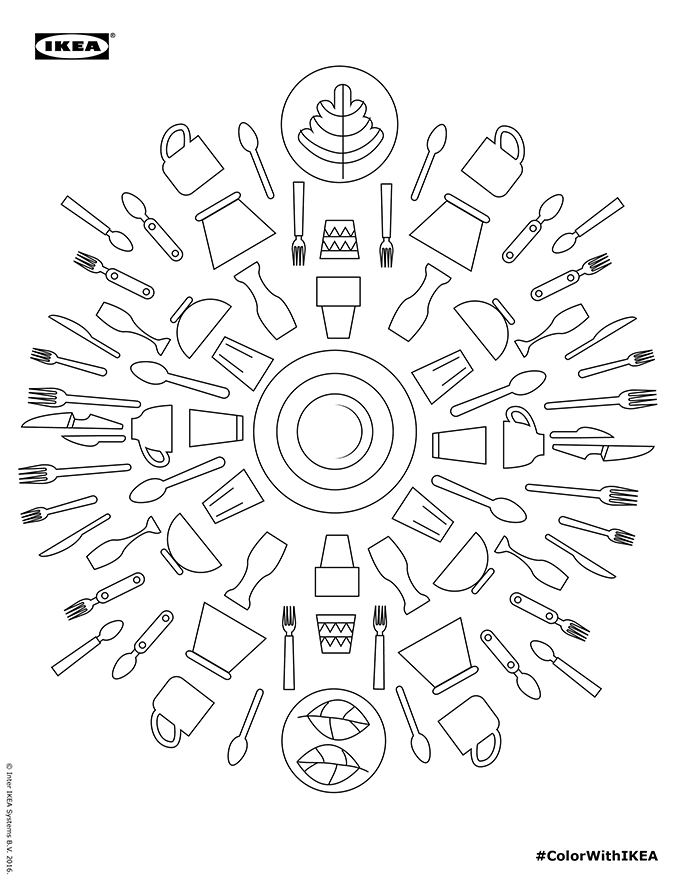 Because Everybody Needs an Ikea Coloring Book for Adults