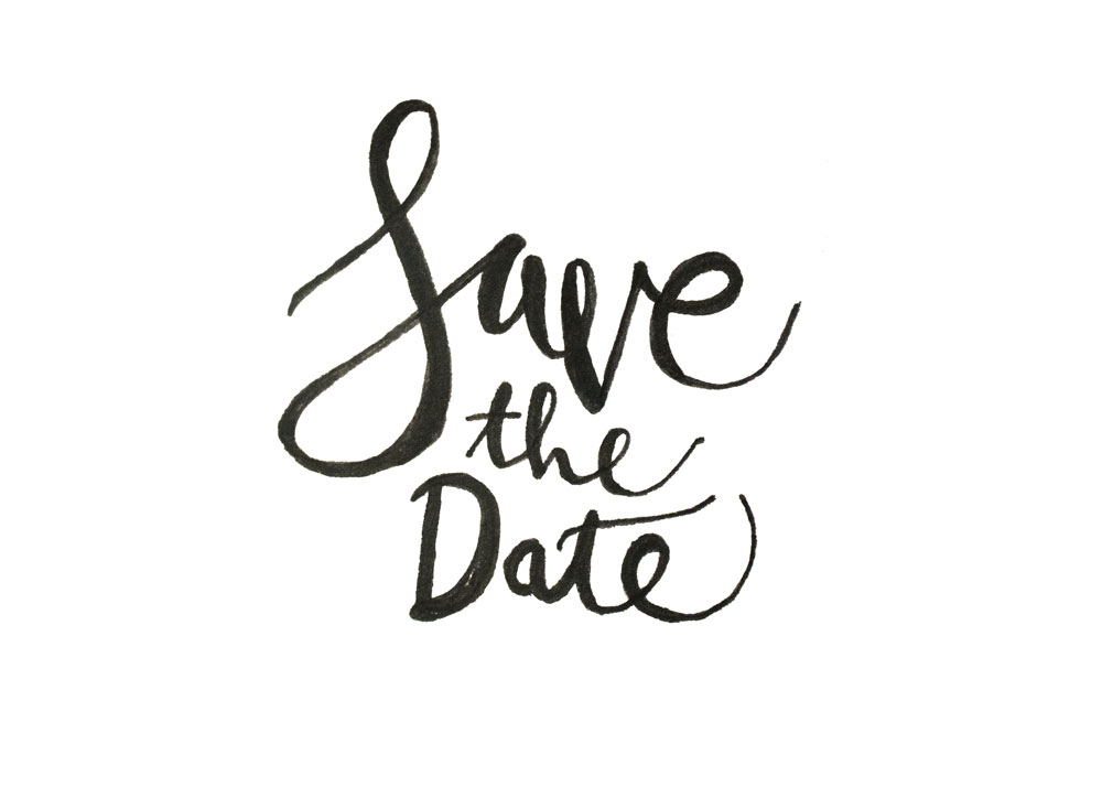How to Hand Letter Your Own Save the Dates ~ Creative