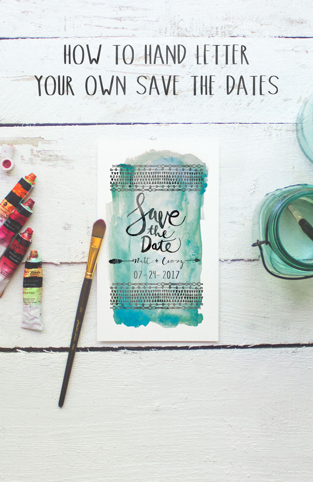Easy Save Date Cards