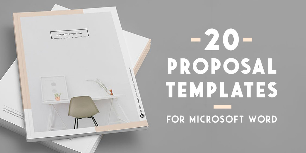 01/05/2020· this word proposal template has a cool blue and grey colorway and works for any type of proposal. 20 Creative Business Proposal Templates You Won T Believe Are Microsoft Word Creative Market Blog