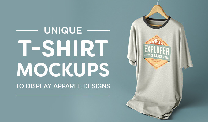 unique t shirt mockups