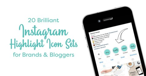 highlight instagram icon icons brilliant sets market bloggers brands