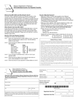 TaxHow » Tax Forms » Missouri Form MO-1040V