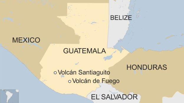 El Santiaguito está ubicado en el departamento de Quetzaltenango, a 11 kilómetros de la ciudad del mismo nombre.