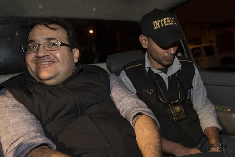 Javier Duarte, el exgobernador de Veracruz, México, capturado en Guatemala, fue trasladado a la prisión en el cuartel militar de Matamoros, en la ciudad capital. (Foto, Prensa Libre: AP)