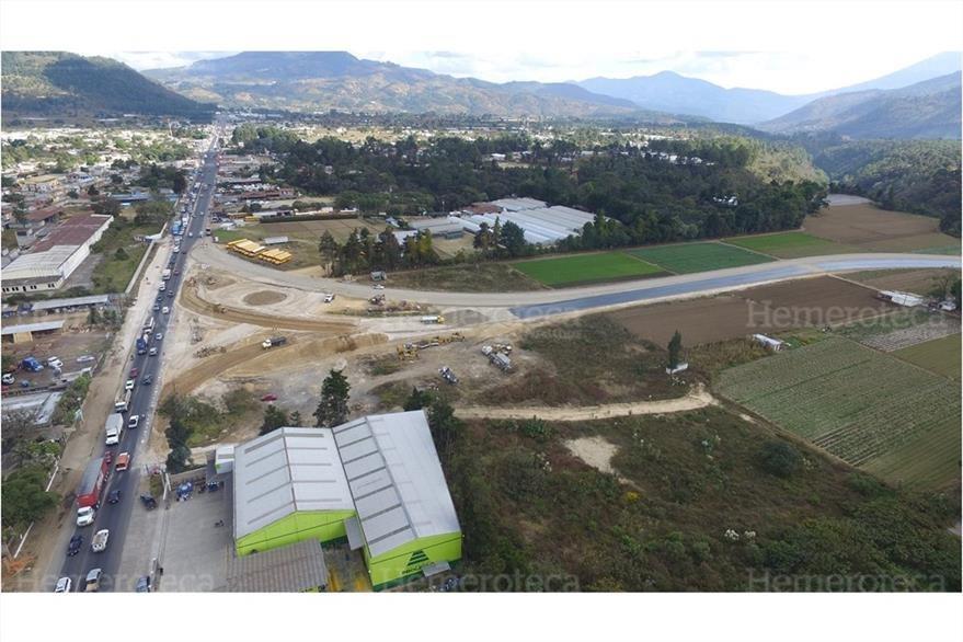 Vista aérea actual de Chimaltenango, una ciudad que renació luego del terremoto de 1976. (Foto: Hemeroteca PL)