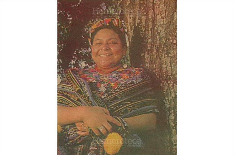 Rigoberta Menchú fue una de las mujeres latinoamericanas en recibir el Premio Nobel de la Paz. (Foto Hemeroteca PL)