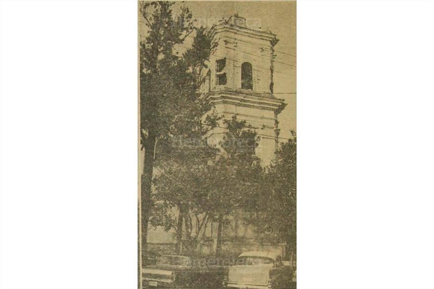El templo de La Recolección ya había soportado los terremotos de 1917-18. (Foto: Hemeroteca PL)