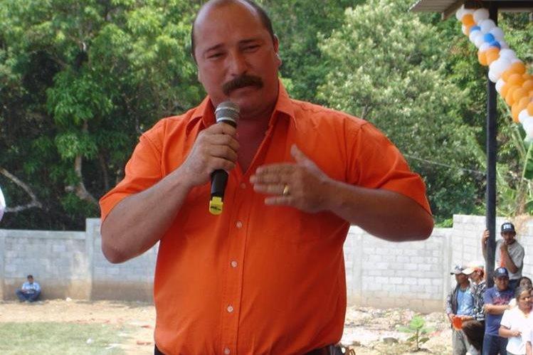 El alcalde Juan Antonio Vanegas Hernández. (Foto Prensa Libre: Tomada del Facebook de Municipalidad de Concepción Las Minas).