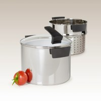 8 Quart Stainless Steel Pasta Cooker by Philippe Richard ...