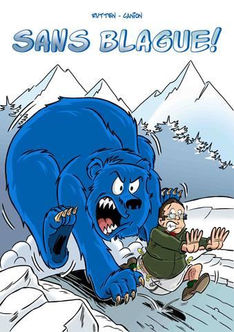 La Blague De L Ours Bleu : blague, Blague, Bande, Dessinée, Interactive, Www.renaud-rutten.be, KissKissBankBank