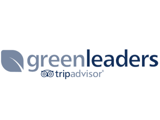 GreenLeaders - TripAdvisor.  For implementing the best ecological practices and a having a continuous commitment to the environment.