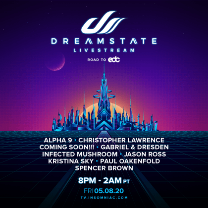 Dreamstate Livestream