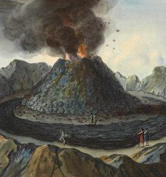 volcano observer sir william hamilton and mount vesuvius [ 1300 x 692 Pixel ]