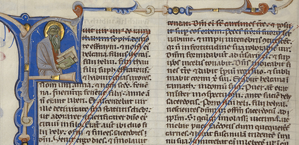 Medieval Copyediting  The Getty Iris