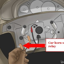 Horn Wiring Diagram With Relay Draw Venn In Word How To Fix A Car Yourmechanic Advice Open Steering Wheel