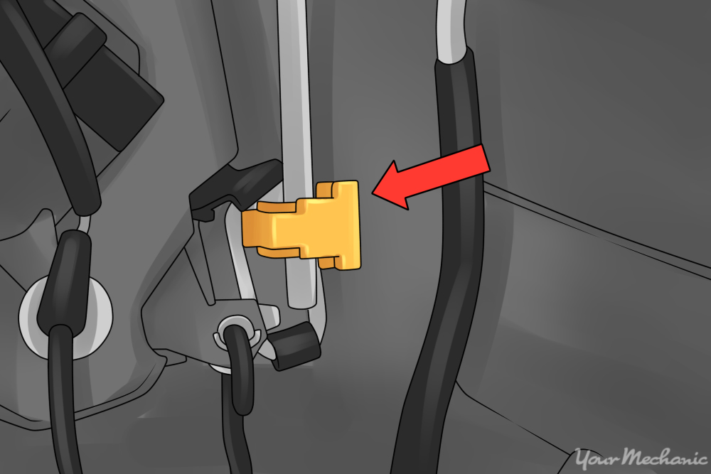 2006 ford escape door ajar wiring diagram 12s how to repair a lock actuator yourmechanic advice yellow clips that need be removed