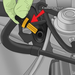 2 Wire Thermostat Wiring Diagram Heat Only External Nose Anatomy How To Replace A Coolant Temperature Sensor | Yourmechanic Advice
