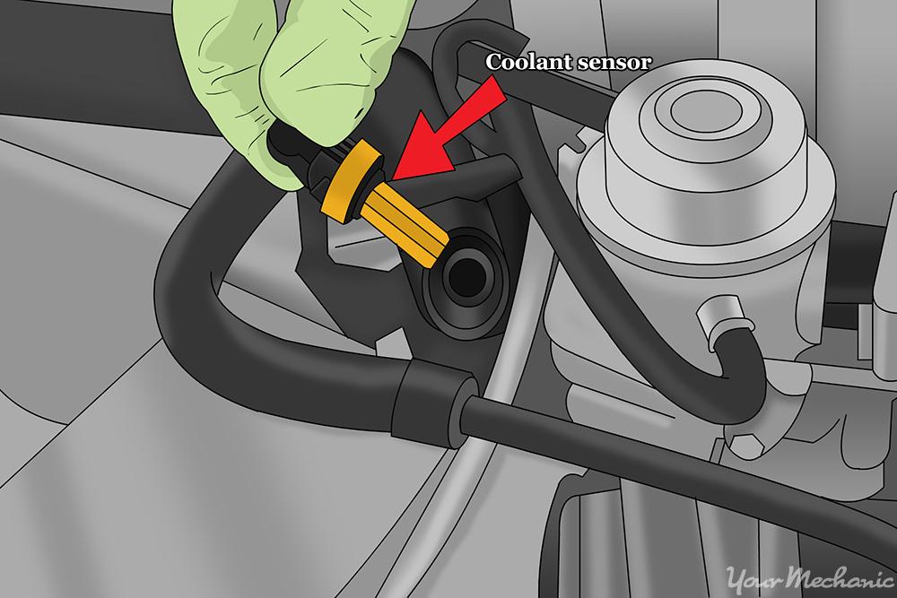 brake light wiring diagram 2004 chevy silverado 12v transformer how to replace a coolant temperature sensor | yourmechanic advice