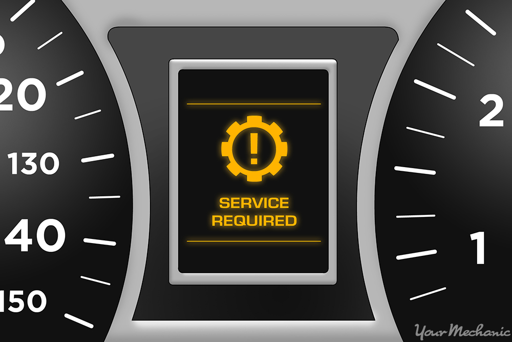 Honda Wiring Diagram Symbols What Does The Service Required Warning Light Mean