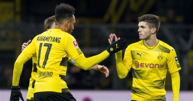 Pulisic Aubameyang Dortmund TEAMtalk