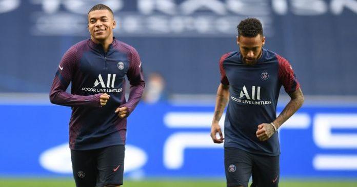 Kylian Mbappe Neymar PSG TEAMtalk