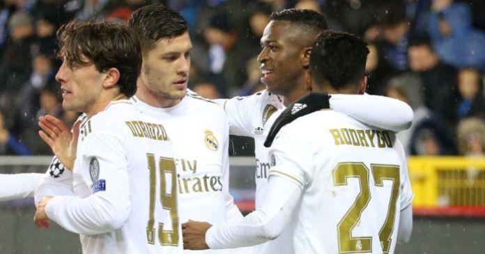 Rodrygo, Luka Jovic, Vinicius Junior Real Madrid