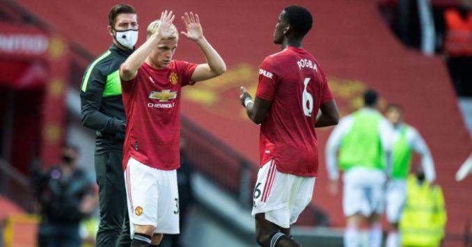 Van de Beek shocked at Man Utd display after revealing early confidence