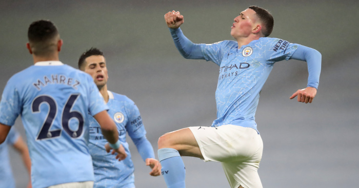 Foden magic sinks Brighton as Man City make it four on the spin