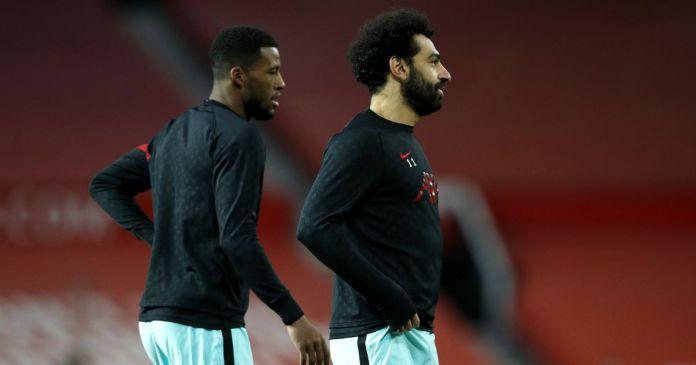 Georginio Wijnaldum, Mohamed Salah Liverpool