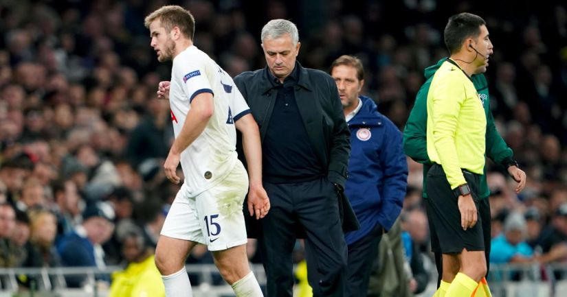 Eric Dier, José Mourinho Tottenham