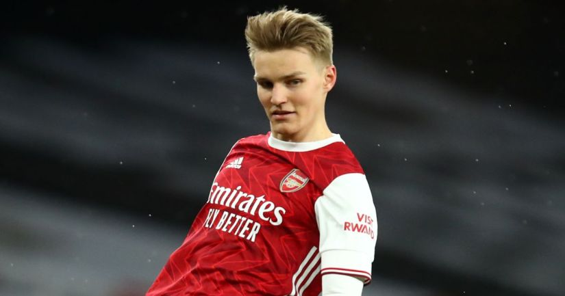 Martin Odegaard Arsenal Leeds February 2021 TEAMtalk