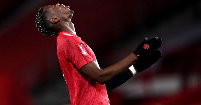 Paul Pogba Man Utd v Everton Shkurt 2021