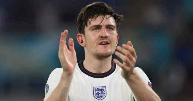 Harry Maguire applauds England Euro 2020 TEAMtalk