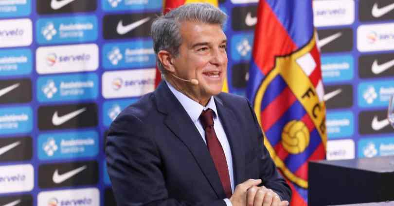 Joan Laporta, Barcelona president