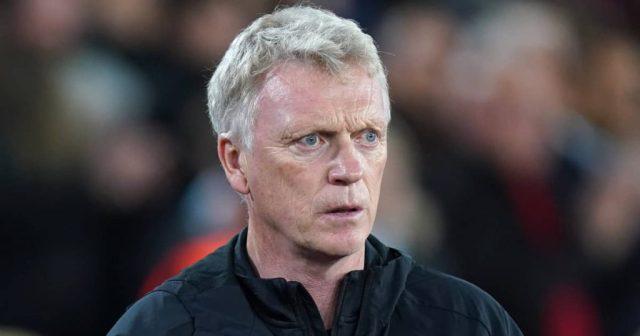 West Ham manager David Moyes 2021