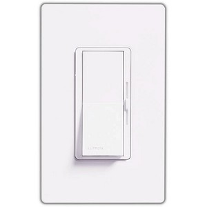 Lutron DVLV-603P-WH Dimmer Switch, 600W 3-Way Magentic Low